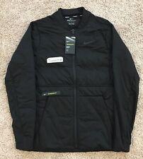 New! Nike Golf Aeroloft Lightweight Jacket Black sz SMALL 932235 010