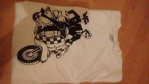 2 tone ska man scooter rider t shirt