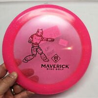 Discmania DD2 Metal Flake C-Line pink with red Robot 175 gm Maverick DG
