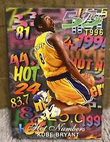 1996-97 Flair HOT NUMBERS Kobe Bryant RC #8 Hot Card LA Lakers Rookie Card 📈