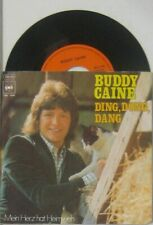 """Buddy Caine   ding dong dang / mein Herz hat Heimweh , 7"""" 45"""