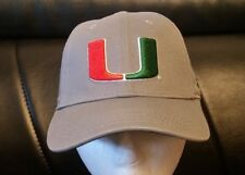 online store c2de9 133cb Miami Hurricanes AdidasYOUTH NCAA Structured Adjustable Hat FREE SHIPPING!