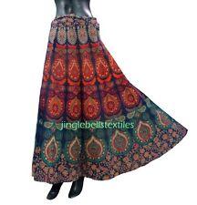 Indian Women Ethnic Floral Rapron Printed Cotton Long Skirt Wrap Around Skirt***