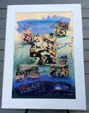 American Football By James Hussey Signed Serigraph #114 See Descp.