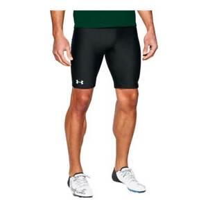Under Armour HeatGear Adult Men's Track Compression Shorts Black 1287840