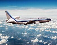 EASTERN AIR LINES LOCKHEED L-1011 TRISTAR 8x10 SILVER HALIDE PHOTO PRINT