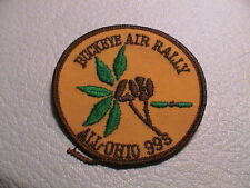 BUCKEYE AIR RALLY ALL OHIO 1999 S AIRPLANE AVIATION AIRCRAFT SHOW CLUB PATCH