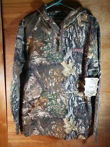 NEW!! Magellan Realtree Edge Hart Creek Fleece Hoodie Womens Size XL