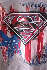 "Tee-shirt ""Superman"" Gris - Manche Longue - 3 Ans - Neuf"