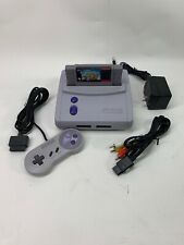 (SNS-101) Super NES Control Deck With Super Mario Kart And 1 Controller