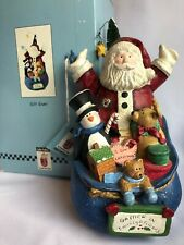 """Sandi Gore Evans """"Gift Giver"""" Figurine by Midwest"""
