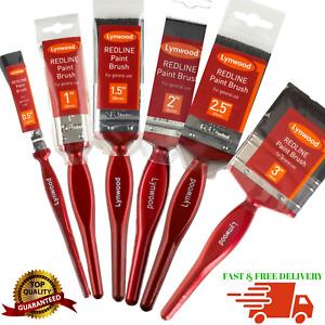 Lynwood Paint brush Fine Brushes Decorating DIY Professional Tools 0.5 - 6 inch