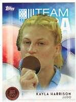 2016 Topps US Olympic Team USA Bronze #9 Kayla Harrison  Judo