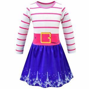 Baby Girls Clothes Kids Fancy Nancy Costume  Full Sleeve Dress Child Frocks