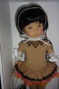 "Dianna Effner  Little Darling Doll 13"" UFDC 2014  Ana Super Mint in Box"