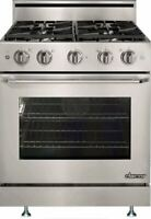"Dacor DR30GSNG 30"" Distinctive Series Freestanding Gas Range DR30GSNSG"