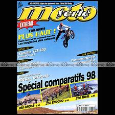 MOTO VERTE N°284 BETA 250 TECHNO KAWASAKI KXE MONTESA COTA SCROPA EASY KTM SX 97