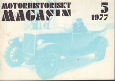 Motorhistoriskt Magasin Swedish Car Magazine 5 1977 Volvo 040317nonDBE