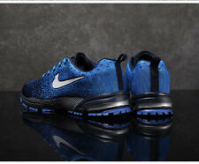 Men Hot Trend Breathable Sports Outdoor Casual Running Sneakers Light Gym Blue