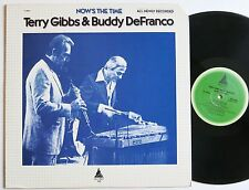 Terry Gibbs & Buddy DeFranco Now 's the time ORIG us tall tree LP MINT -