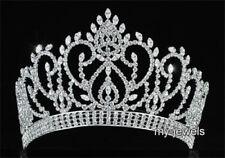 Tiaras y diademas de novia coronas color principal plata