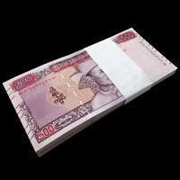 Bundle Lot 100 PCS, Myanmar 500 Kyats, 2020, P-New, New Design, Banknote, UNC