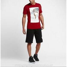 Nike Air Jordan Dunk From Above T-Shirt Red 725006-687 Large Nwt New