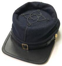 CIVIL WAR US UNION INFANTRY LIEUTENANT OFFICER WOOL KEPI FORAGE CAP HAT-MEDIUM