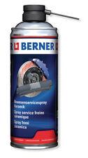 BERNER Bremsenservicespray Keramik Schmierstoff für ABS ASR + ESB Systeme 400ml