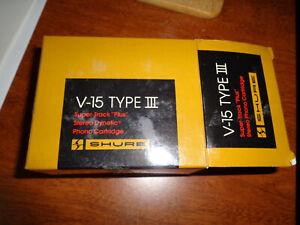 Shure V-15 Type III Super-Track Plus Phono Cartridge NOS