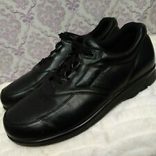 SAS Time Out Sneakers Mens Size US 12 Tripod Comfort Shoes Black Leather Lace Up
