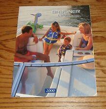 Original 2000 Bayliner Ciera Sales Brochure 00