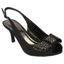 Sandali e scarpe formale nero per il mare da donna