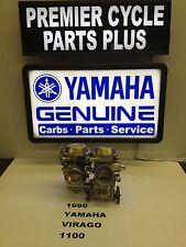 1990 YAMAHA VIRAGO XV 1100 SET OF MIKUNI CARBS CARBURETORS