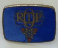 Insigne officiel ORTF TV Jeux olympique d'hiver de Grenoble 1968 - RARE