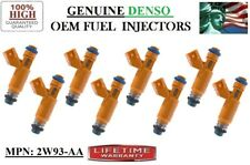 8x Reman Fuel Injectors OEM Denso/ Series 03-09 Jaguar 4.2L & Land Rover 4.4L V8
