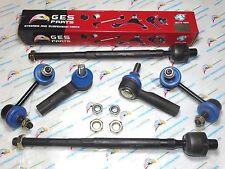 6 PCS Tie Rod Ends Outer & Inner Sway Bar Links ES3438 EV458 K90431 K90432