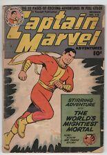 Captain Marvel Adventures 115 Fawcett 1950 GD VG Shazam