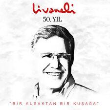 """ZÜLFÜ LİVANELİ """"Livaneli 50. Yıl """"Bir Kuşaktan Bir Kuşağa"""" CD 2016"""