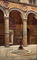 Florenz Firenze Italien Italia Toskana AK ~1910 Palazzo Vecchio Marrani Innenhof