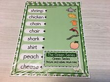 The Green Series - Word & Picture Match Dry Erase (8 Wipewriter) Montessori