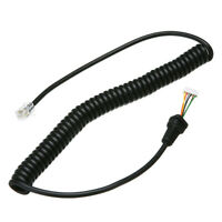 Replacement Microphones Mic Cable Cord Wire For Yaesu MH-36B6J FT-100 FT-100D