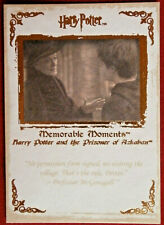 HARRY POTTER - MEMORABLE MOMENTS #1 - Card #38 - NO PERMISSION FORM SIGNED...