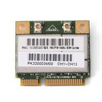 For Intel AMD 802.11 B/G/N Bluetooth + WiFi Wireless Wlan Mini PCI-E Card Lot LJ