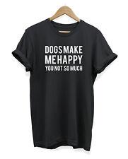 Los perros me hace feliz T Shirt-Perro Amante