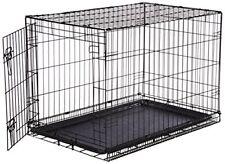 Amazonbasics Cage pliante en Métal avec 1 Porte pour Chien Taille L