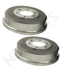 Pair Set of Rear Left & Right Brake Drums Durago For Infiniti QX4 Nissan D21