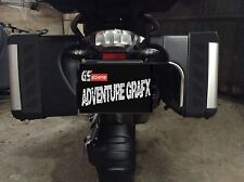 BLACK REFLECTIVE VARIO SAFETY CHEVRONS TO FIT BMW R1200GS VARIO PANNIERS