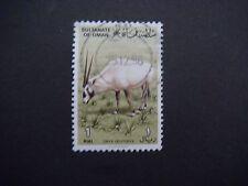 Omán 1982 SG 270 1r árabe Oryx utilizado Gato £ 26.00