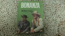 1966 Bonanza TV Western Show Hoss Cartwright Killer Lion HB Book